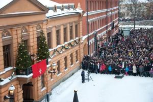 Joulurauhan julistus