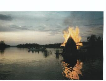 Juhannuskokko Liiansaaressa