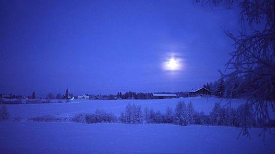 kaamos talvi pimeys