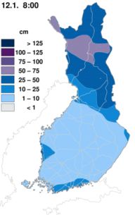 finland-snow-depth-observations-map