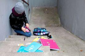 koulukiusattu lapsi portaat