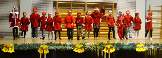 Joulujuhla Kokkolassa 2012