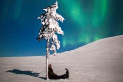 Varázslatos északi fény