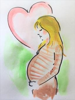 Äitiysneuvola-kuva