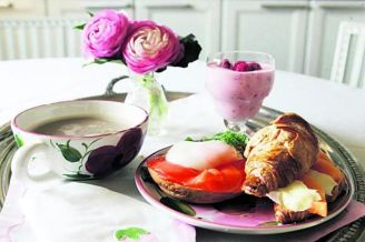 äidin aamiainen