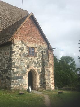 Bejárat a templomba