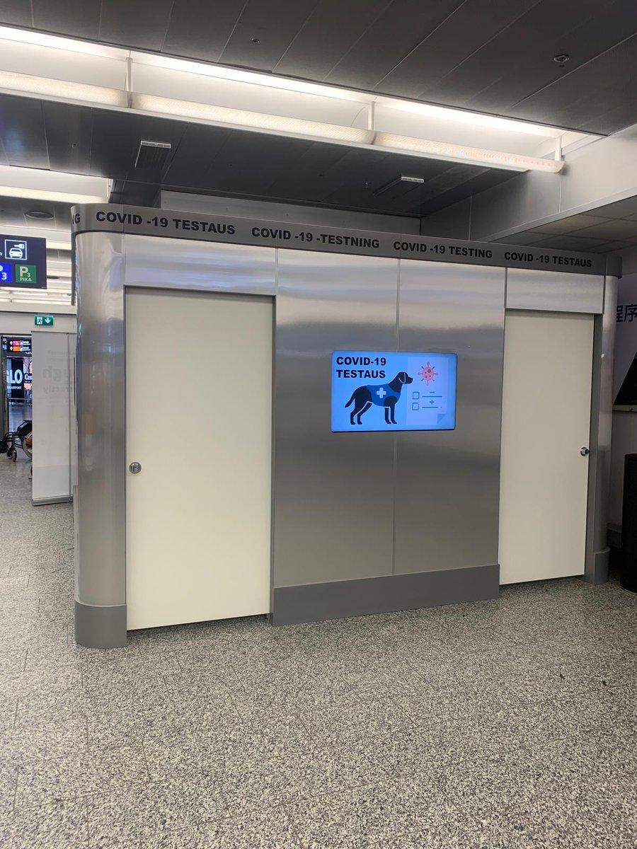 Koronatestaus Hki lentoasema